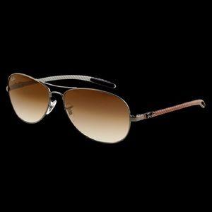 Ray-Ban Tech Carbon Fibre Sunglasses